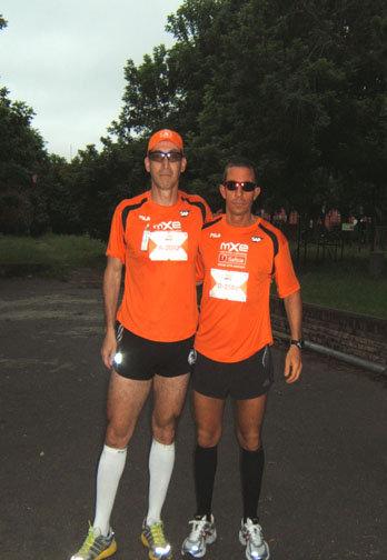 Al Maratón x Equipos Banco Galicia nada lo detiene