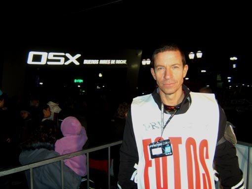La OSX Buenos Aires encendió la noche porteña